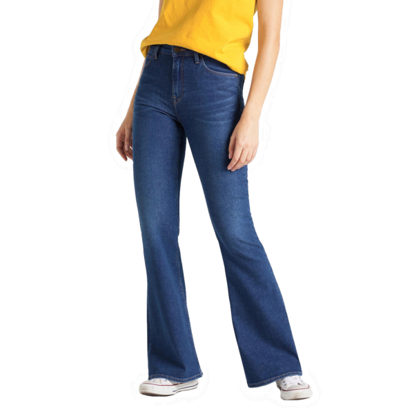 LEE Breese Women Jeans Flare - Dark Favourite (L32Y-RO-NR)