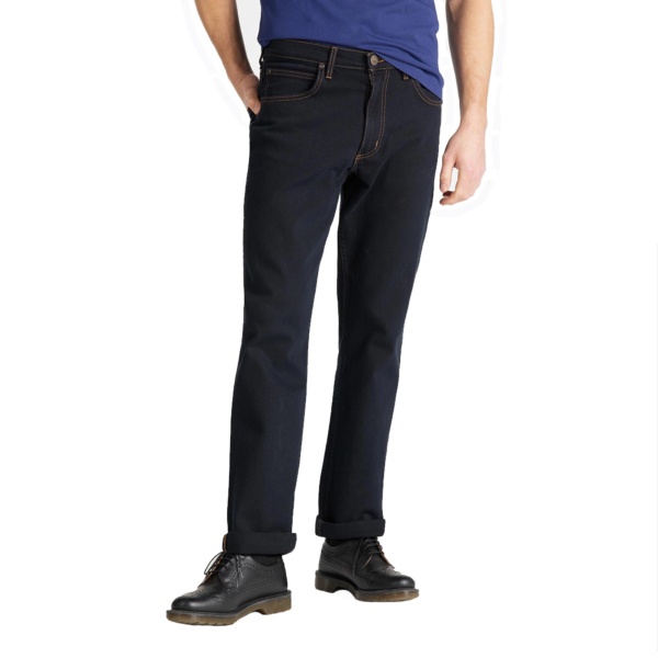 LEE Brooklyn Jeans Straight - Blue Black (L45271HH)