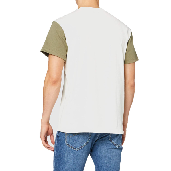 LEE Colourblock Tee Men - Utility Green (L60E-RE-NG)