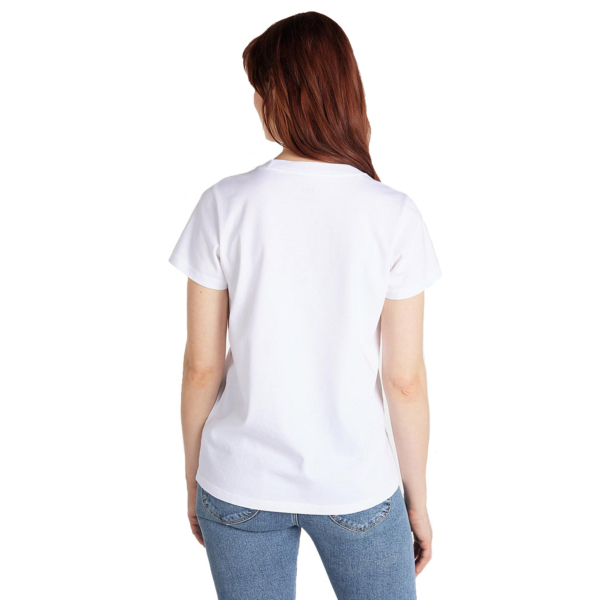 LEE Crew Neck Women Tee - Bright White (L41L-ET-LJ)