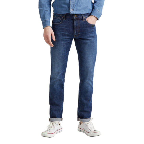 LEE Daren Zip Jeans Straight - Mid Foam (L707KNDD)