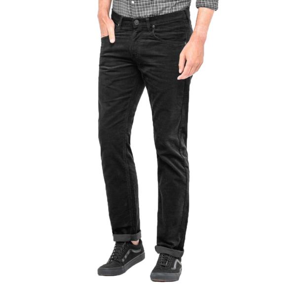 LEE Daren Zip Cord Straight - Black (L707-WJ-01)