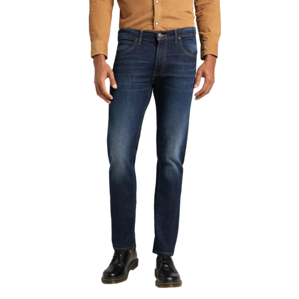 LEE Daren Zip Jeans Straight - Deep Kansas (L707PLMH)