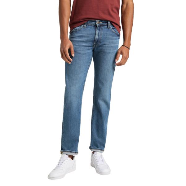 LEE Daren Zip Jeans Straight - Mid Woodland (L707KNHK)