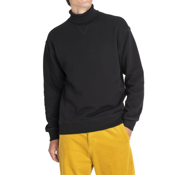 LEE High Neck Sweatshirt - Black (L82B-TJ-01)