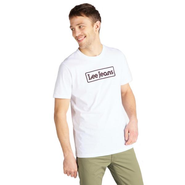 LEE Jeans Tee Men - Bright White (L65L-FE-LJ)