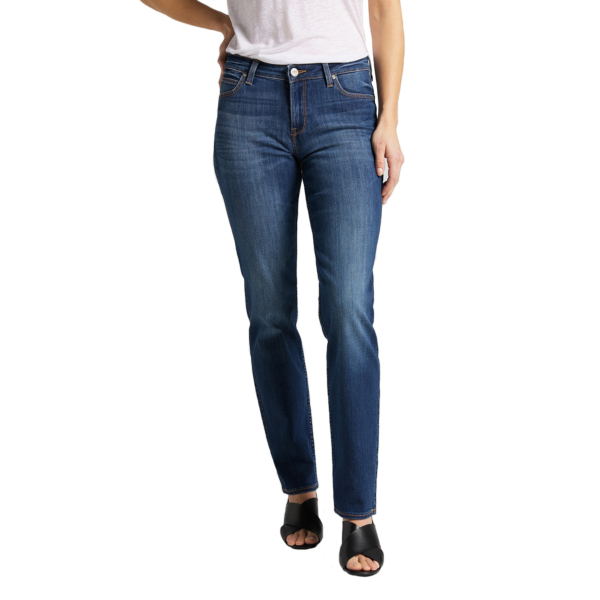 LEE Marion Women Jeans Straight - Night Sky (L301HAIM)