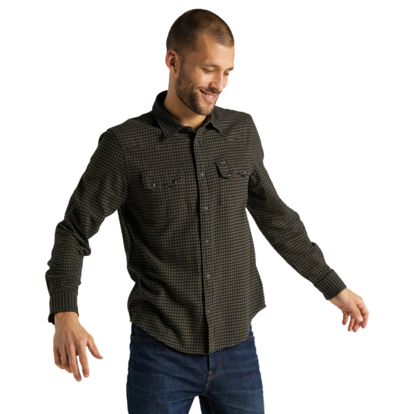 LEE Rider Men Shirt - Olive Green (L851RPNX)