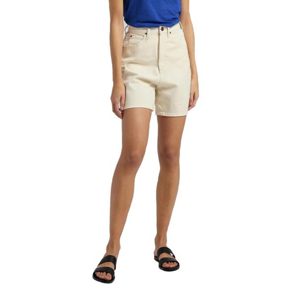 LEE Stella Denim Shorts for Women - Ecru (L37EQHYJ)