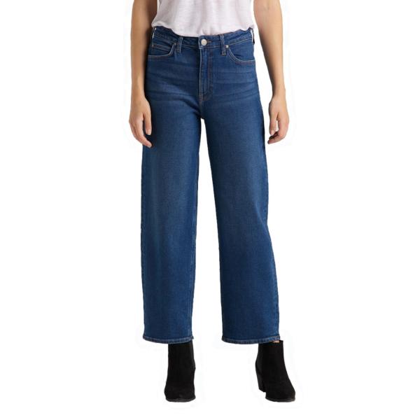 LEE Wide Leg Women Jeans - Dark Dora (L30S-LT-YM)