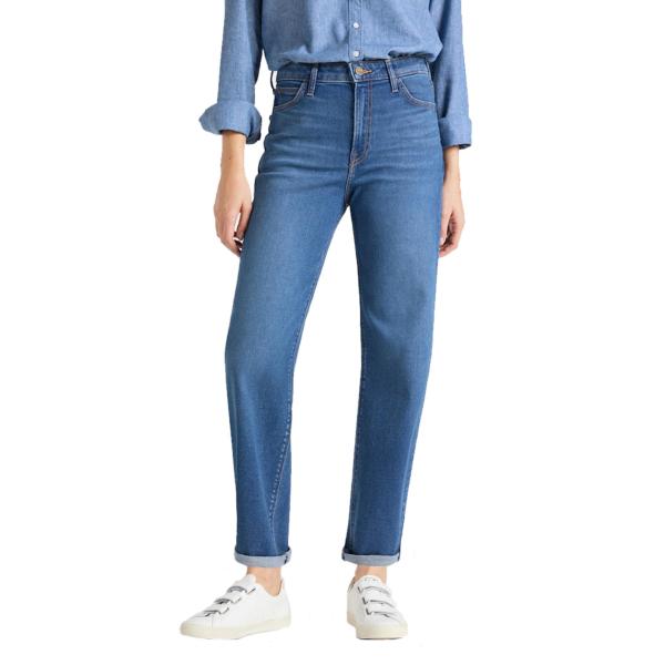 LEE Wide Leg Women Jeans - Mid Bellevue (L30S-LT-GX)