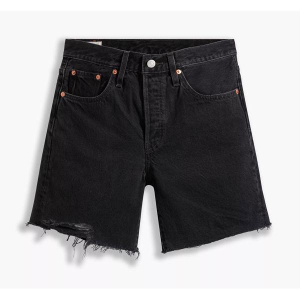 Levi's® 501® Mid Thigh Women Shorts - Lunar Black (85833-0016)