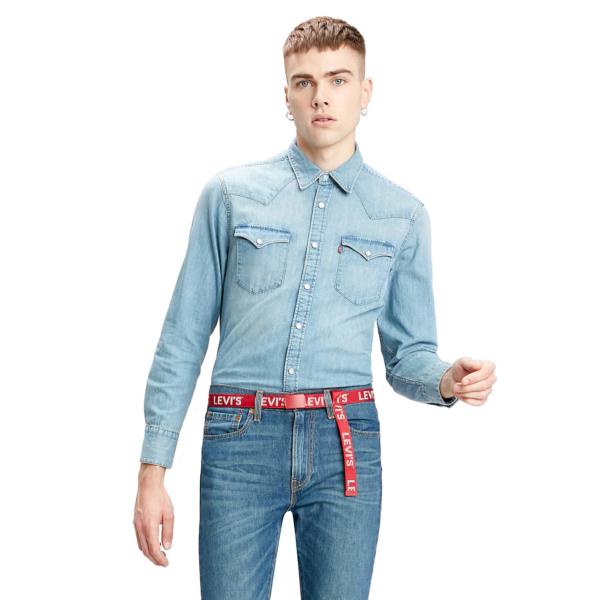 Levi's® Barstow Denim Standard Shirt - Red Cast Stone (85744-0001)