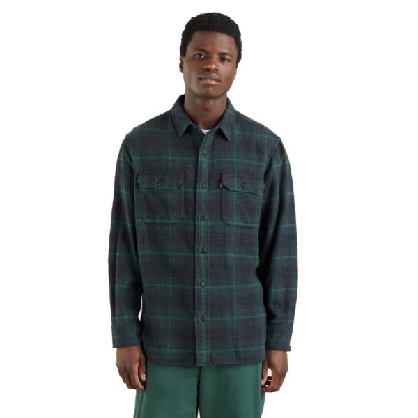 Levi's® Worker Flannel Unisex Shirt - Pineneedle (19587-0165)