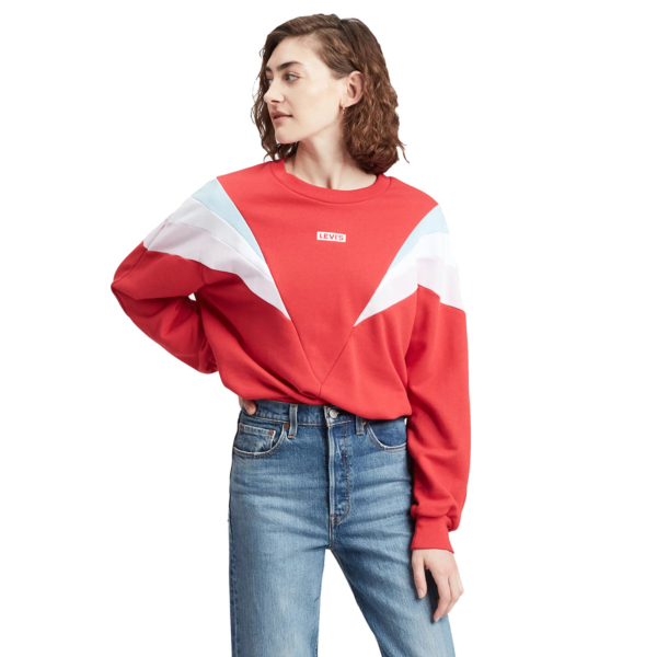 Levi's® Florence Crew Baby Tab - Brilliant Red (77711-0002)