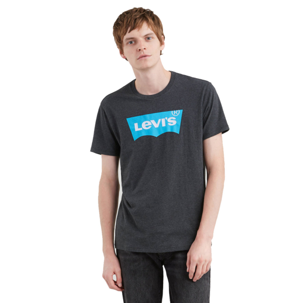 Levi's® Housemark Graphic Tee - Charcoal Grey (22489-0154)