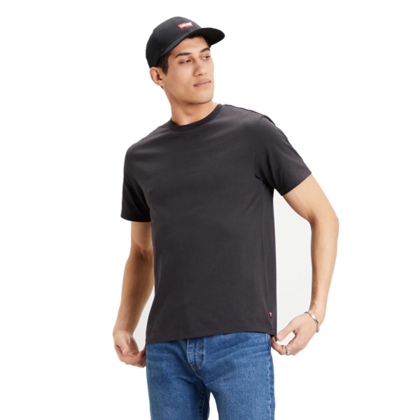 Levi's® Housemark Outline Graphic Tee - Jet Black (22489-0283)