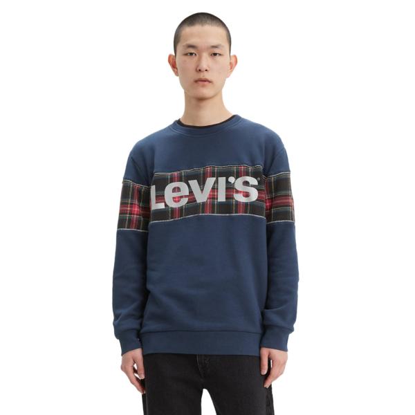 Levi's® Colorblock Crew - Dress Blue (69873-0001)