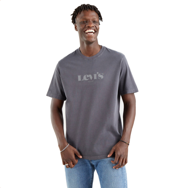Levi's® SSNL Logo Relaxed Tee - Pearl Black (16143-0227)