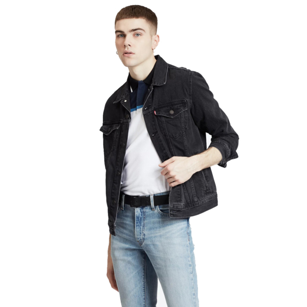 Levi's® The Trucker Denim Jacket - Liquorice (72334-0405)