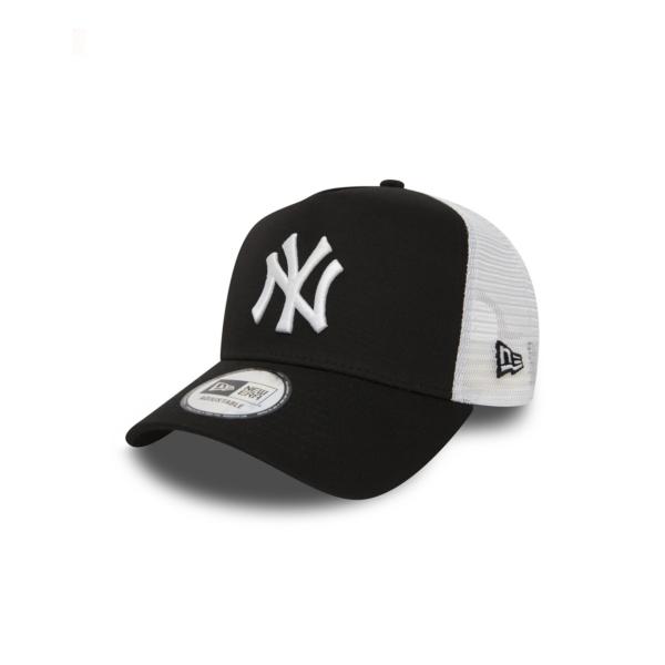 NEW ERA NY Yankees Clean Trucker - Black/ White (11588491)