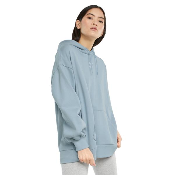 PUMA Classics Oversized Women Hoodie - Blue Fog (530412-61)
