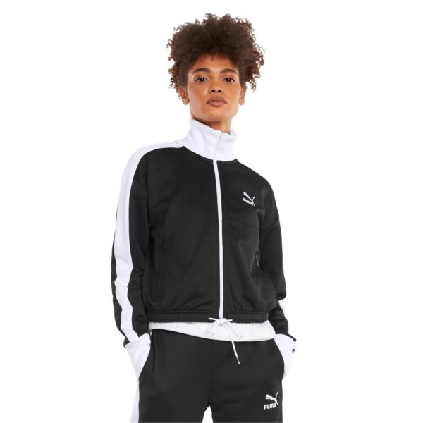PUMA Iconic T7 Crop Women Jacket - Black (531623-01)