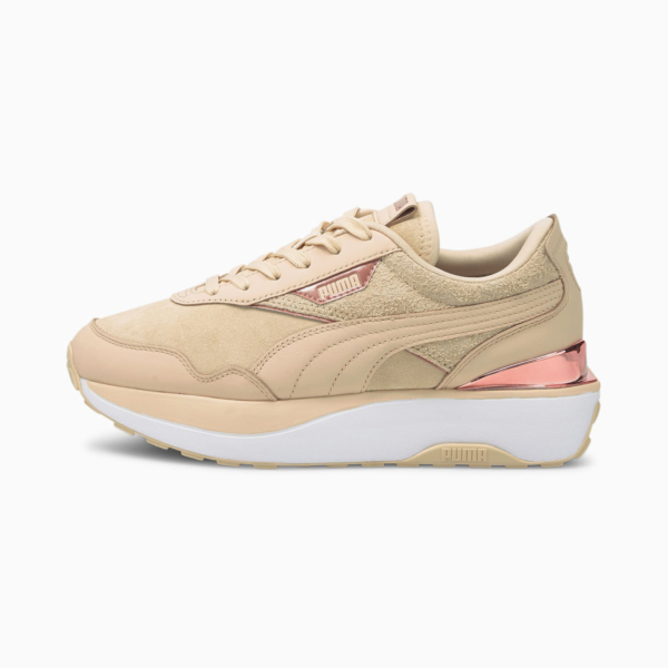 PUMA Cruise Rider 66 Women Sneakers - Shifting Sand/ White (375074-02)