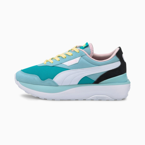 PUMA Cruise Rider Silk Road Women Sneakers - Viridian Green/ Aquamarine (375072-02)