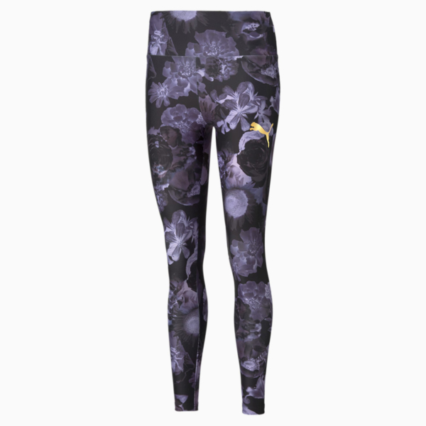 PUMA Evide Printed Leggings - Elektro Purple (530847-28)