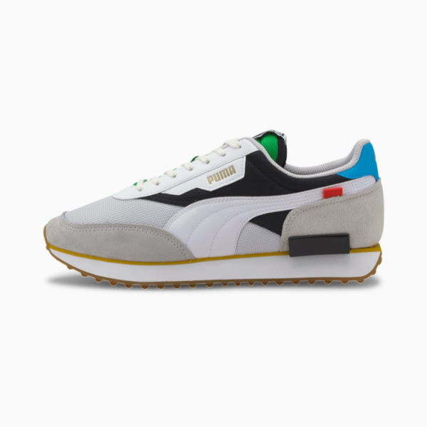PUMA Future Rider Unity Collection Sneakers - White/ Black (373384-01)