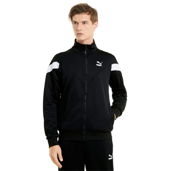 PUMA Iconic MSC Track Jacket - Black (530102-01)