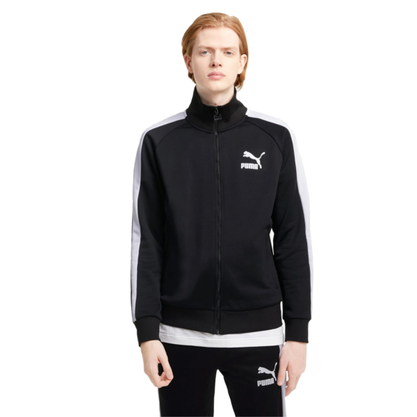 PUMA Iconic T7 Track Jacket - Black (530094-01)