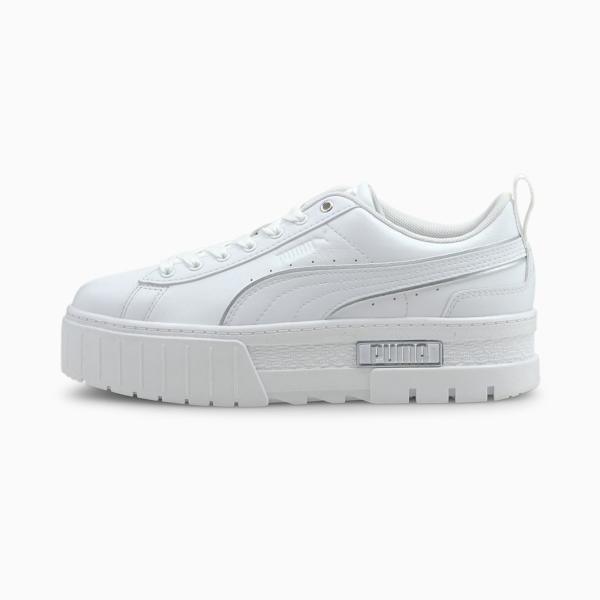 PUMA Mayze Metal Women Sneakers - White (381606-01)