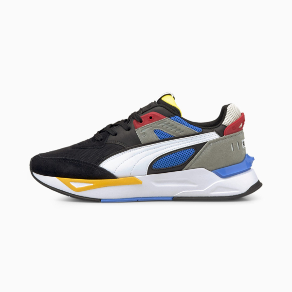 PUMA Mirage Sport Remix Sneakers - Black/ White (381051-01)