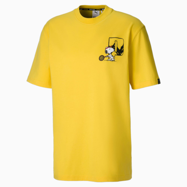 PUMA x Peanuts Men Tee - Maize (530616-37)