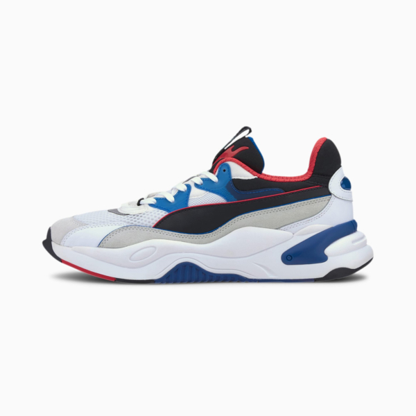 PUMA RS-2K Internet Exploring Sneakers - White/ Lapis Blue (373309-04)