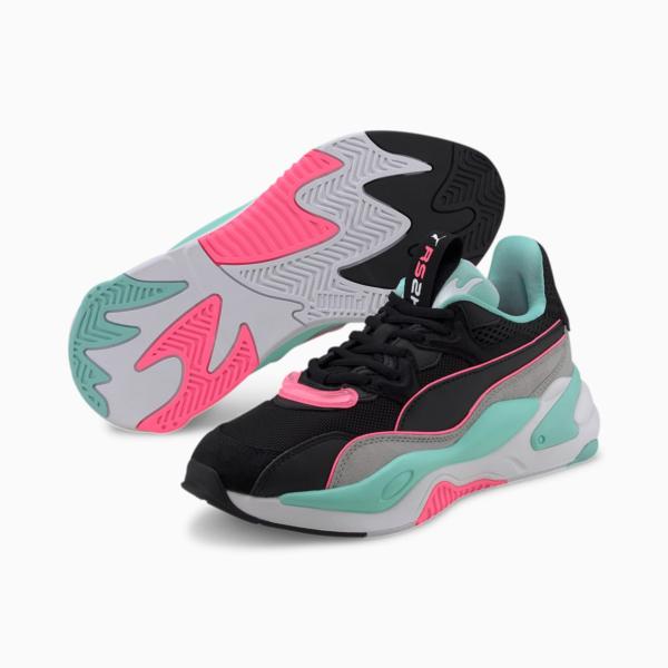 PUMA RS-2K Messaging Women Sneakers - Black/ High Rise (372975-04)