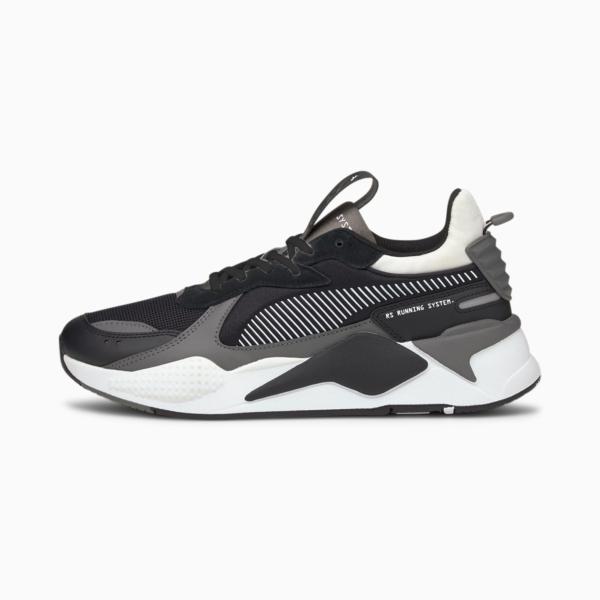 PUMA RS-X Mix Sneakers - Black/ Castlerock (380462-03)