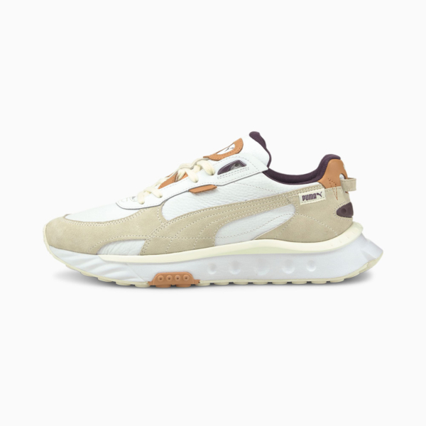 PUMA Wild Rider SC Sneakers - Vaporous Gray/ White (381901-01)