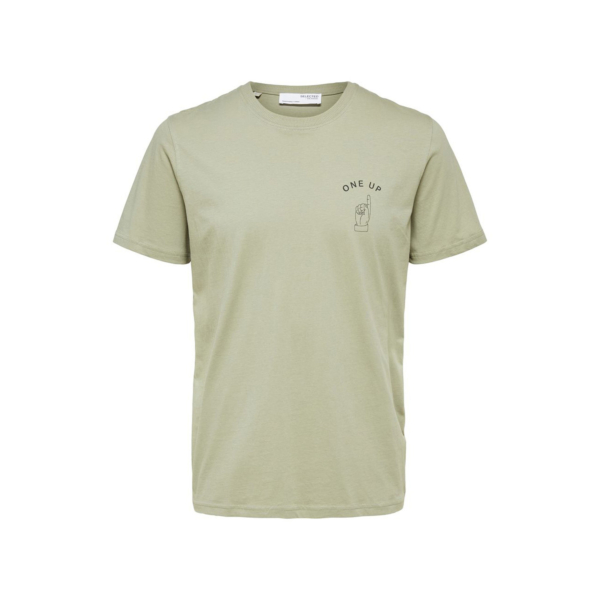 SELECTED Carter Statement Tee (16079038-Tea)
