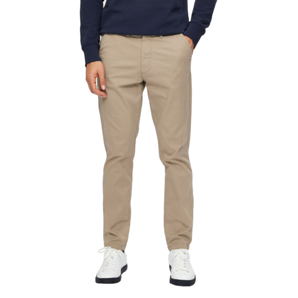 SELECTED Miles Flex Chino (16074054-Greige)