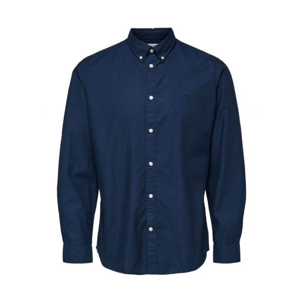 SELECTED South Slim Shirt (16079922-Dark-Sapphire)