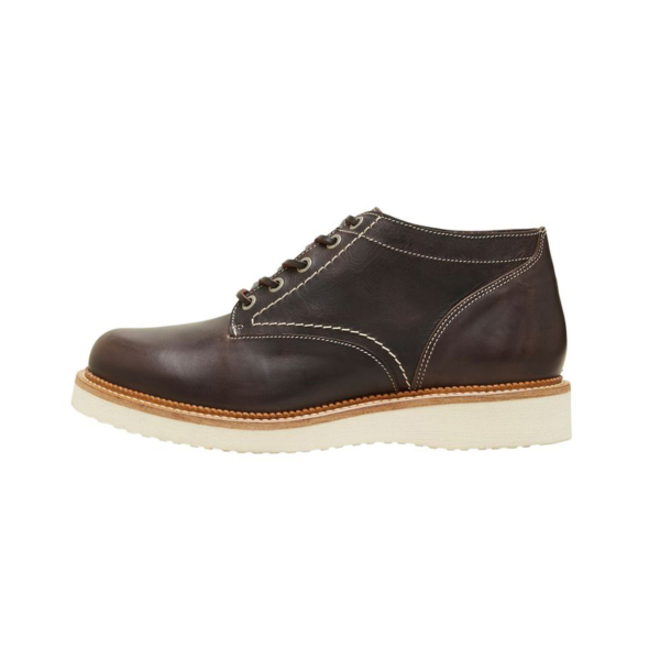 SELECTED Teo Leather Handmade Boots (16081330-Brown)