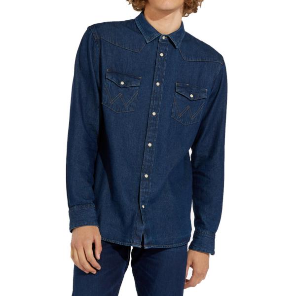 WRANGLER 27MW Denim Shirt - New Dry (W5MSLW301)