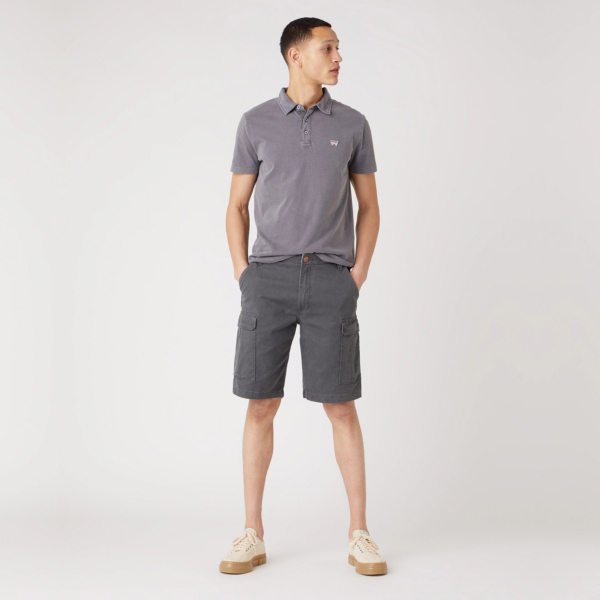 WRANGLER Casey Cargo Shorts - Dark Shadow (W1C35085J)