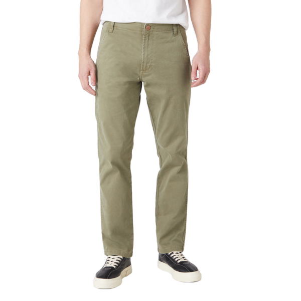 WRANGLER Casey Chino Trousers - Lone Tree Green (W1C050G38)
