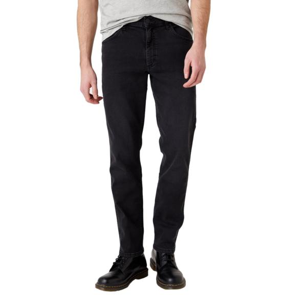 WRANGLER Greensboro Jeans Regular - Black Crow (W15QHP363)