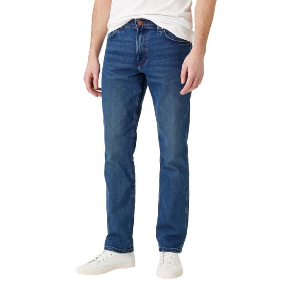 WRANGLER Greensboro Jeans Regular - Blue Shiver (W15QU8372)