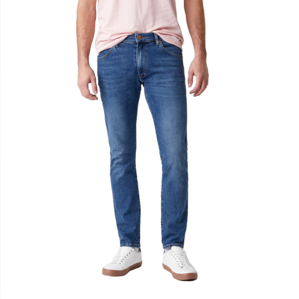 WRANGLER Larston Jeans Slim Tapered - Blue Fire (W18SV777W)
